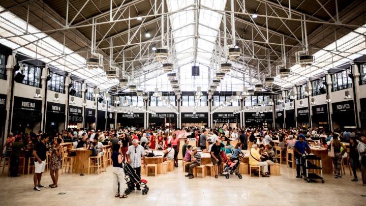 Actividades Lisboa - Mercado da Ribeira Interior