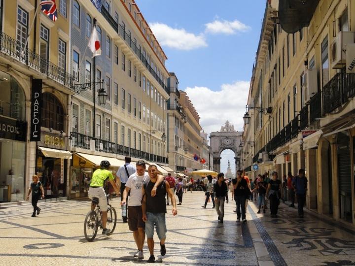 Visitar Lisboa - Rua Augusta