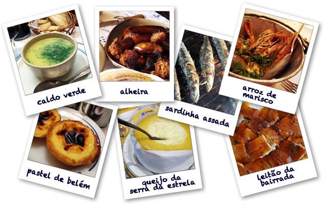 Visitar Lisboa - Gastronomia Portuguesa