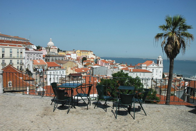 Visitar Lisboa - Miradouro Portas do Sol