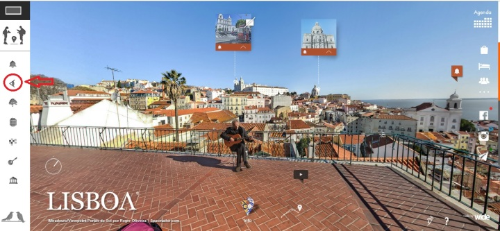 Visitar Lisboa - Miradouros