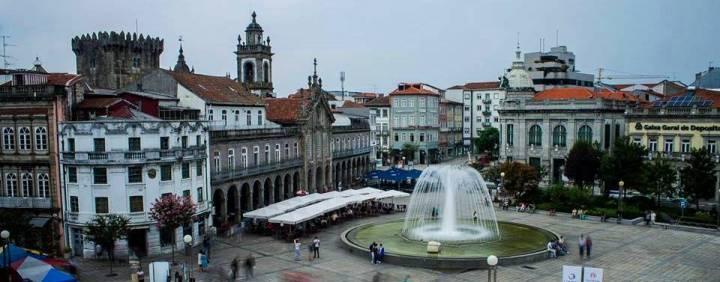 Praça da Republica, Braga - Portugal