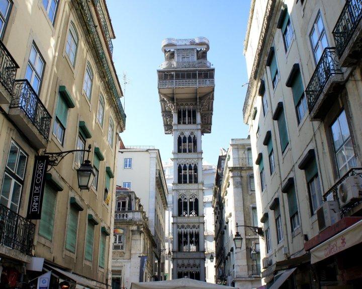 Visitar Lisboa - Elevador da Santa Justa