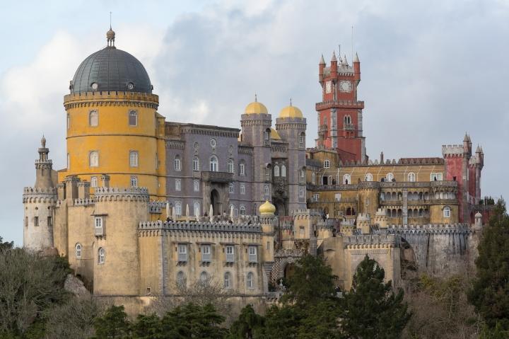 Portugal VS Itália - Palácio Nacional da Pena